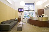 Luxury Dentistry NYC - reception room